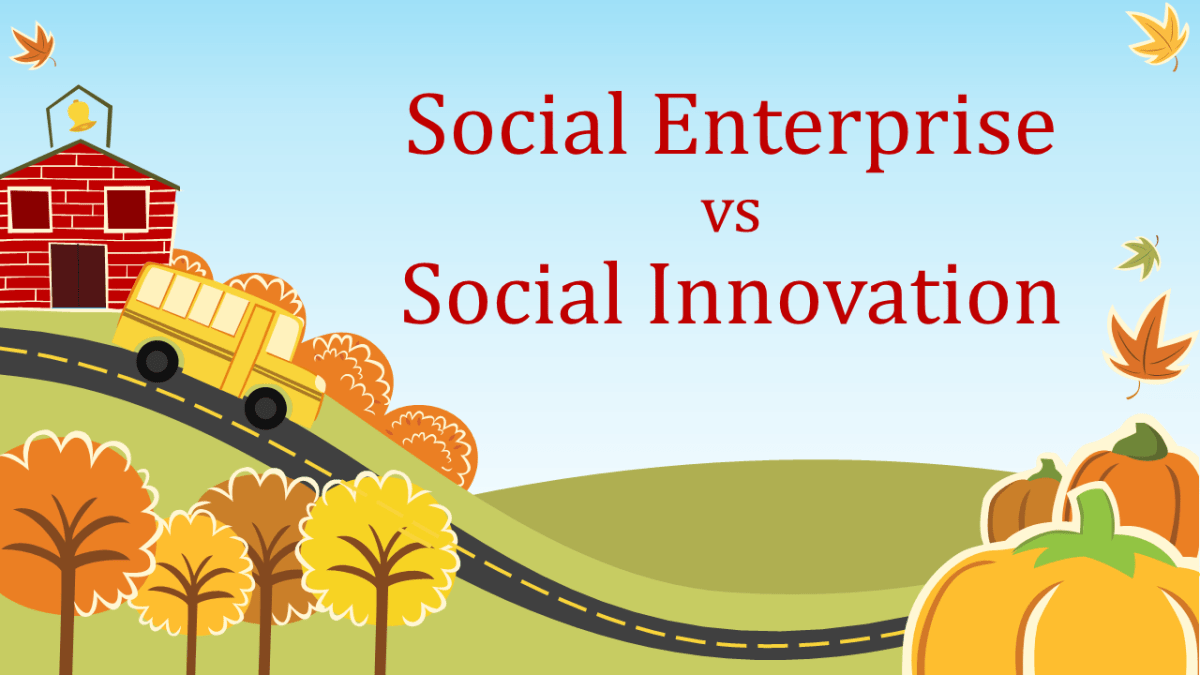 Social Enterprise vs Social Innovation